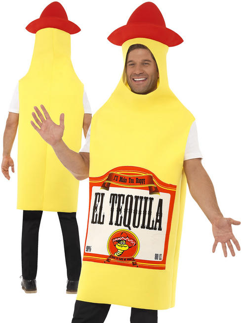 Adult's Tequila Bottle Costume