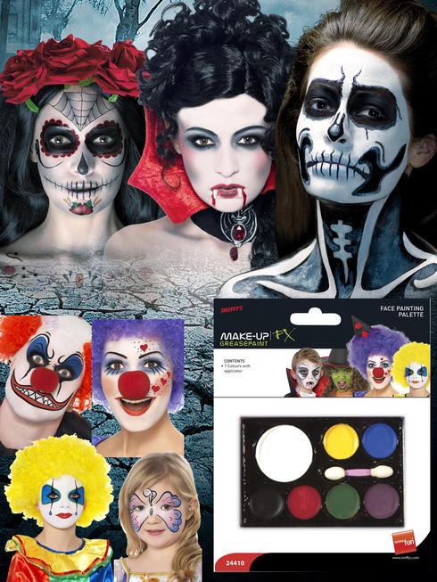 Adult's Face Paint Palette