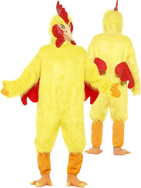Adults Deluxe Chicken Costume