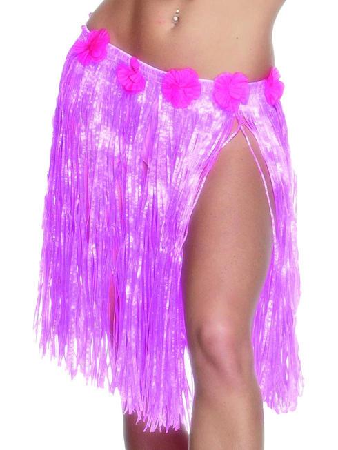 Ladies Pink Hula Skirt