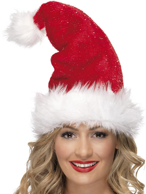 Adult's Santa Plush Hat