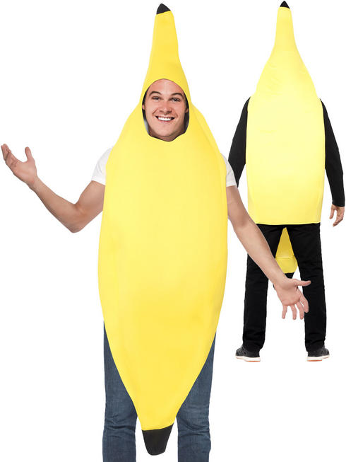 Adults Banana Costume - One Size