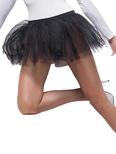 Ladies Black Tutu Underskirt