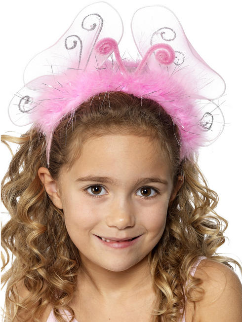 Girl's Pink Flashing Headband