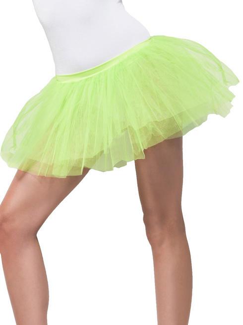 Ladies Green Tutu Underskirt