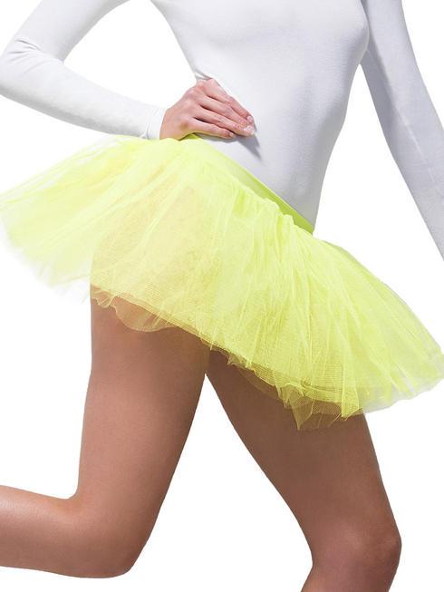 Ladies Yellow Tutu Underskirt