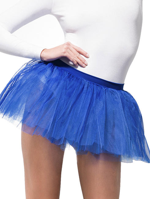 Ladies Blue Tutu Underskirt