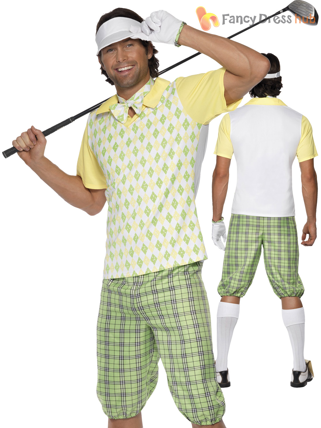Homme-Gone-Golf-Costume-Adultes-Pub-Golf-Deguisement-Golfeur-Stag-Party-Outfit
