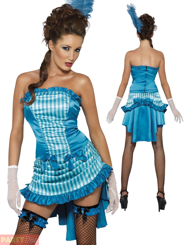 Lady Elegance Burlesque Fancy Dress Costume Women\'s Medium Smiffys ...
