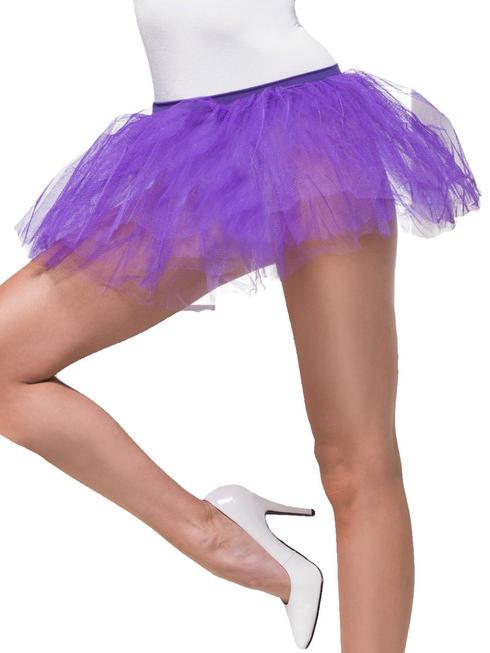 Ladies Purple Tutu Underskirt