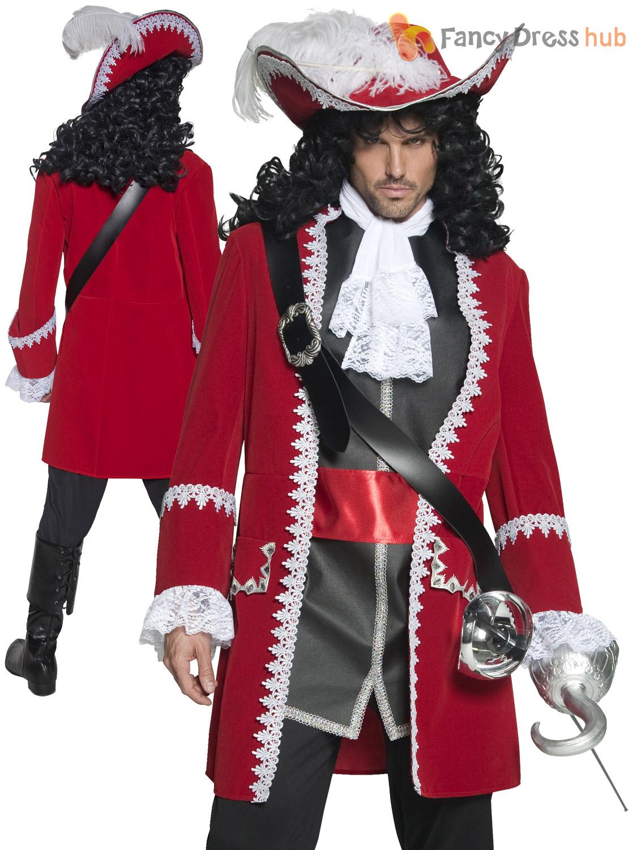 Mens ladies deluxe authentic pirate costume captain hook couples mens ladies deluxe authentic pirate costume captain hook solutioingenieria Gallery