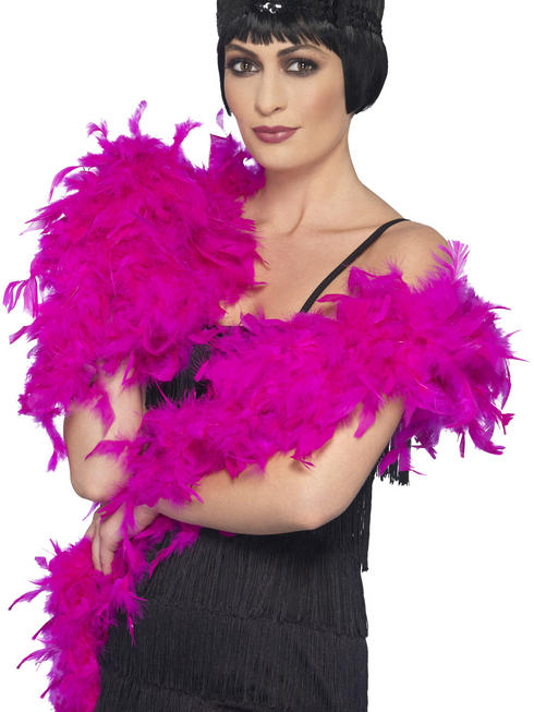 Pink Deluxe Feather Boa
