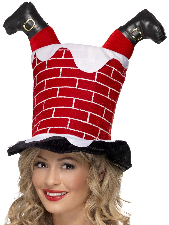 Christmas Turkey Gobbler Hat Adult Xmas Novelty Fancy Dress Costume Accessory