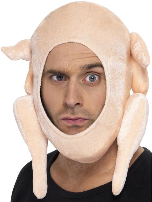 Stuffed Turkey Xmas Hat