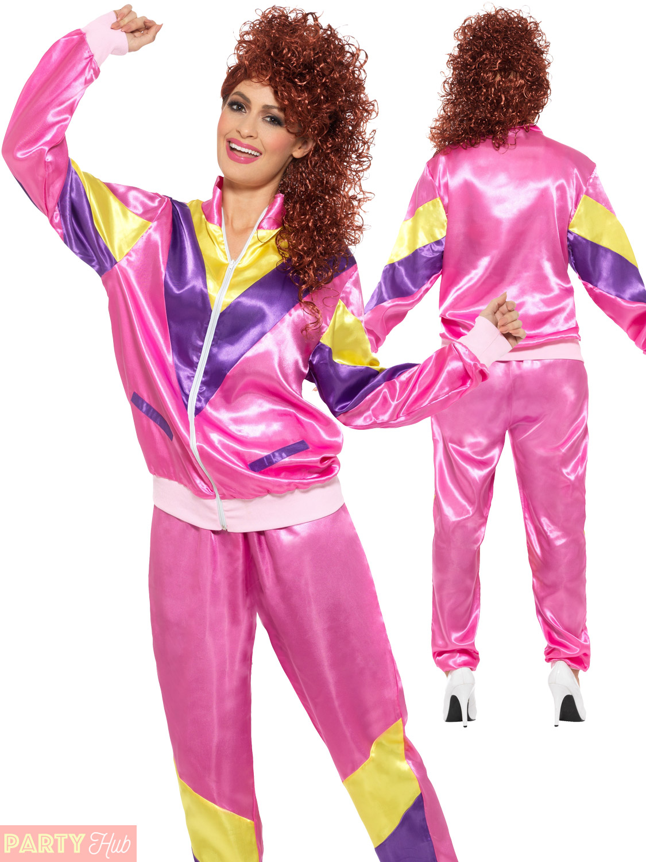 Mens-Ladies-Shell-Suit-80s-Fancy-Dress-Costume-  sc 1 st  eBay & Mens Ladies Shell Suit 80s Fancy Dress Costume Scouser Tracksuit ...