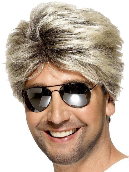 Men's 80s Street Wig