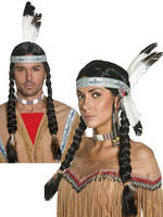 Ladies Native Indian Wig