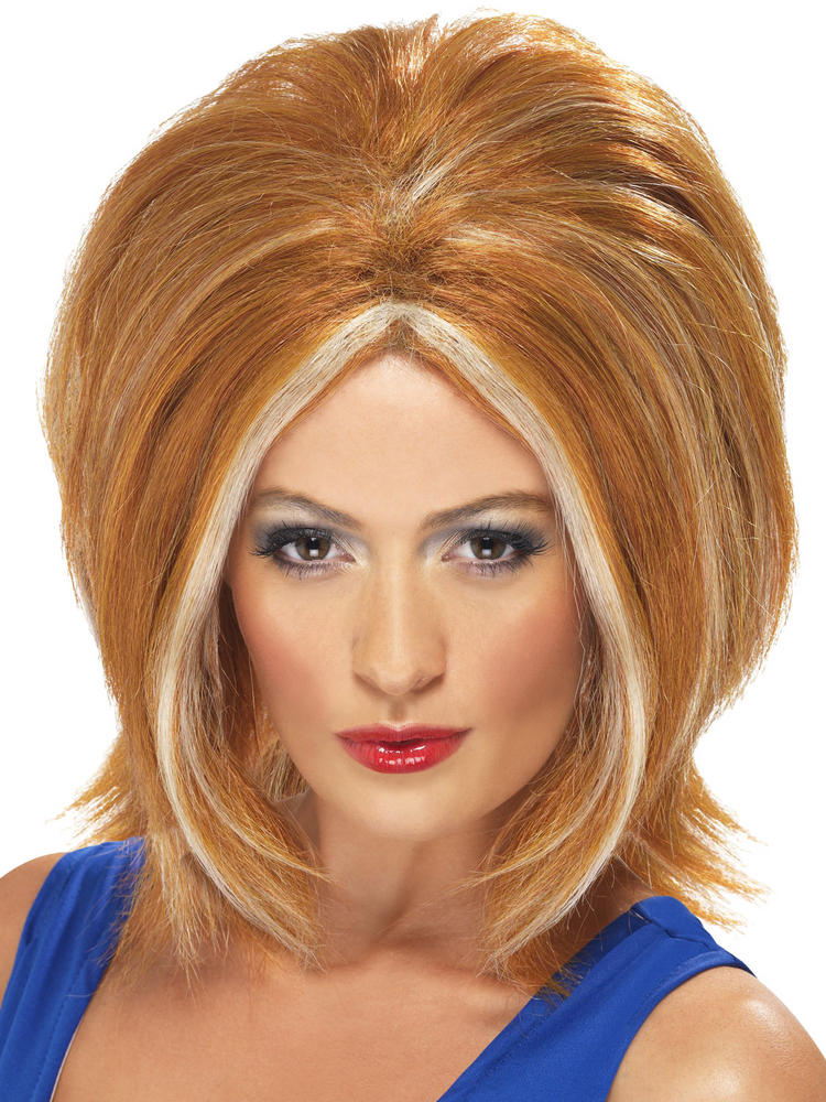Ladies Ginger Spice Wig