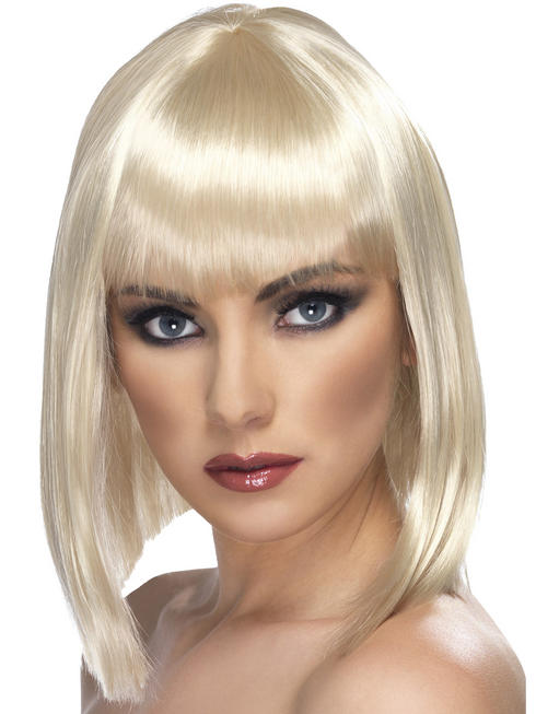 Ladies Blonde Glam Wig