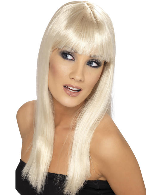 Ladies Blonde Glamourama Wig