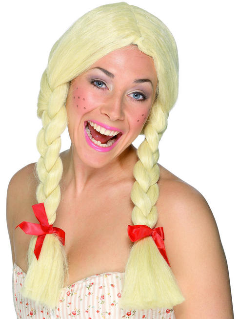Ladies Schoolgirl / Dutch Wig
