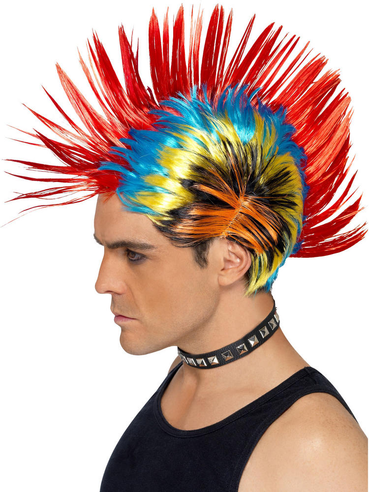 Men's 80s Street Punk Wig