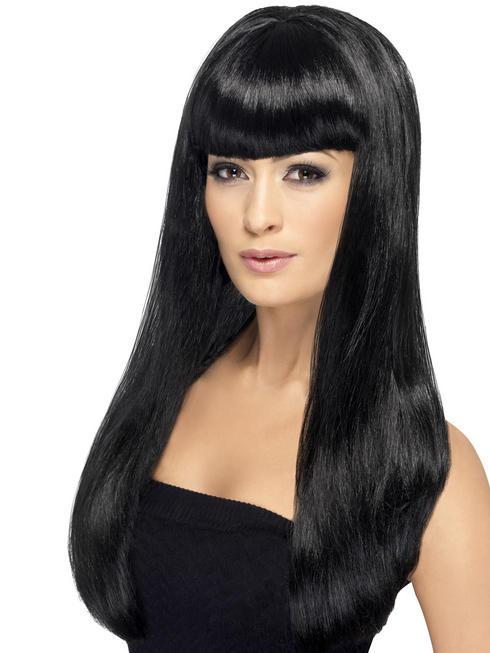 Ladies Black Babelicious Wig