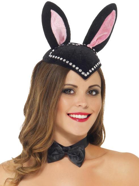 Ladies Burlesque Bunny Skull Cap
