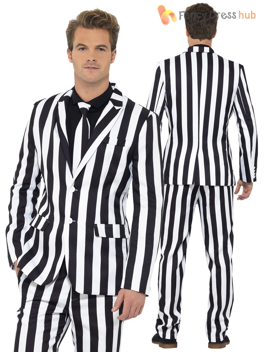 Mens Stand Out Suit Stag Do Fancy Dress Party Outfit Funny Comedy Costume Adult | eBay