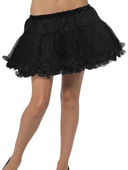 Ladies Black Petticoat