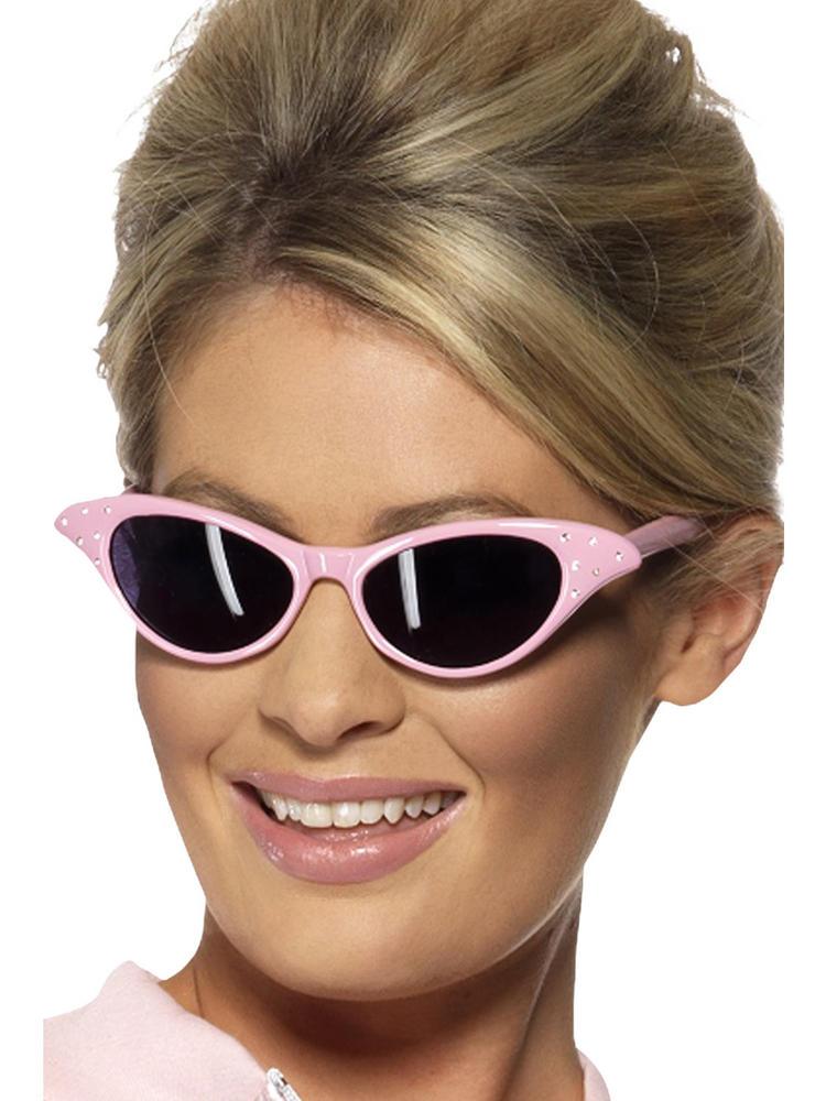 Grease Pink Ladies Sunglasses