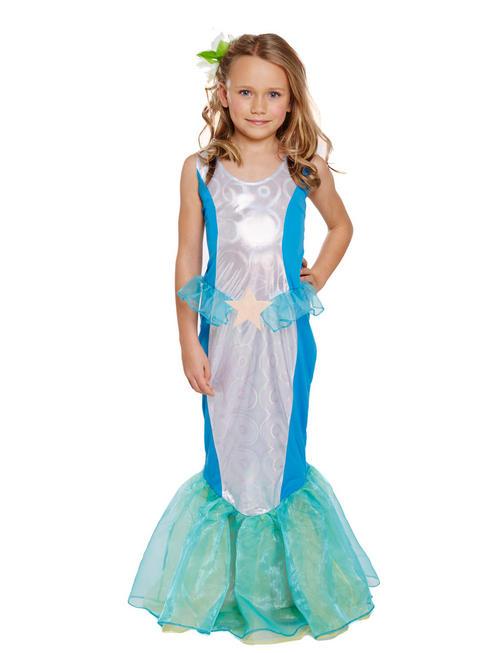 Girl's Little Mermaid Costume