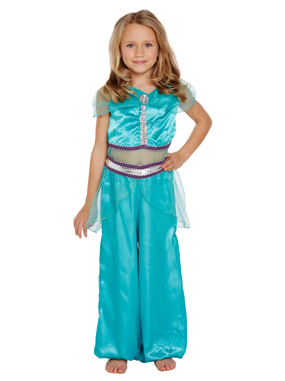 girl 39 s princess jasmine costume all children fancy dress hub. Black Bedroom Furniture Sets. Home Design Ideas