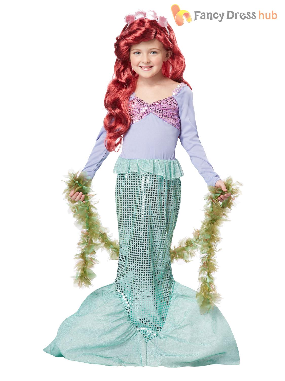 e75ff18ba Little Mermaid Fancy Dress Costume   Ladies Little Mermaid Costume ...