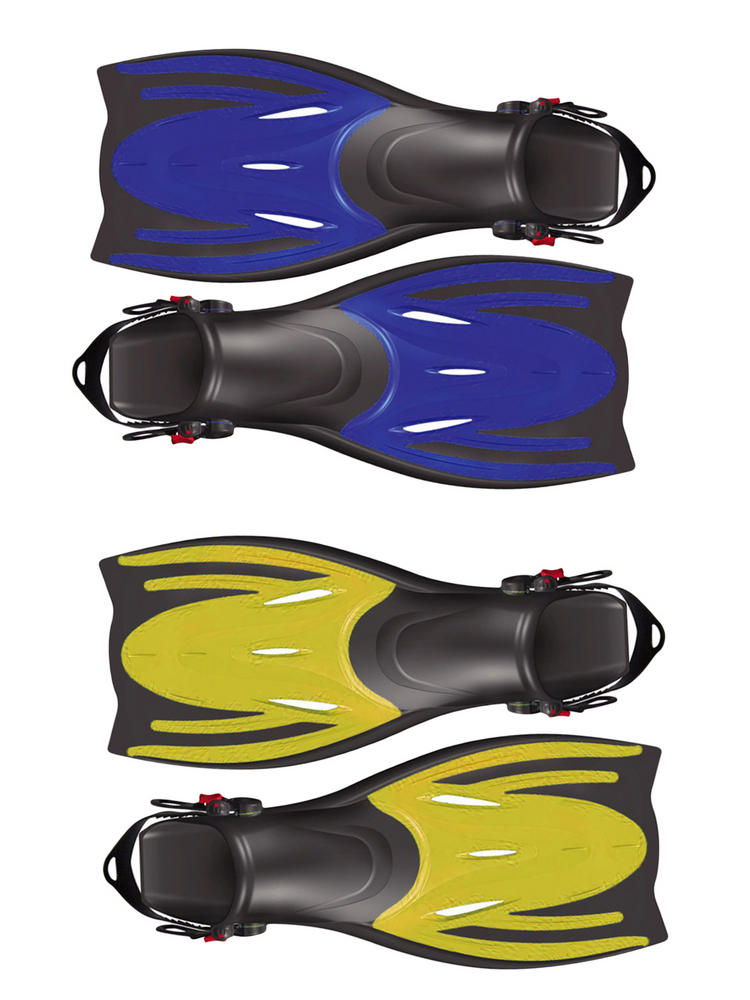 Child's Typhoon T-Jet Adjustable Fins