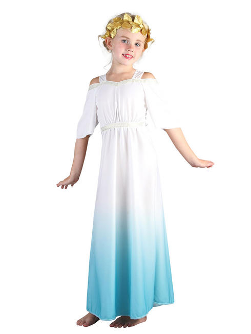 Girl's Roman Goddess Costume