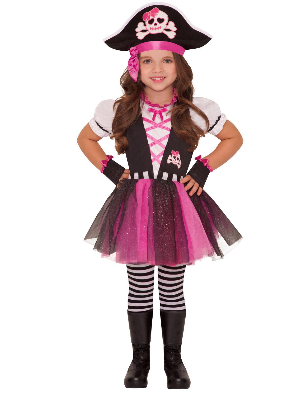 Image 5  sc 1 st  eBay & Girls Pirate Caribbean Princess Fancy Dress Party Costume Child Kids ...
