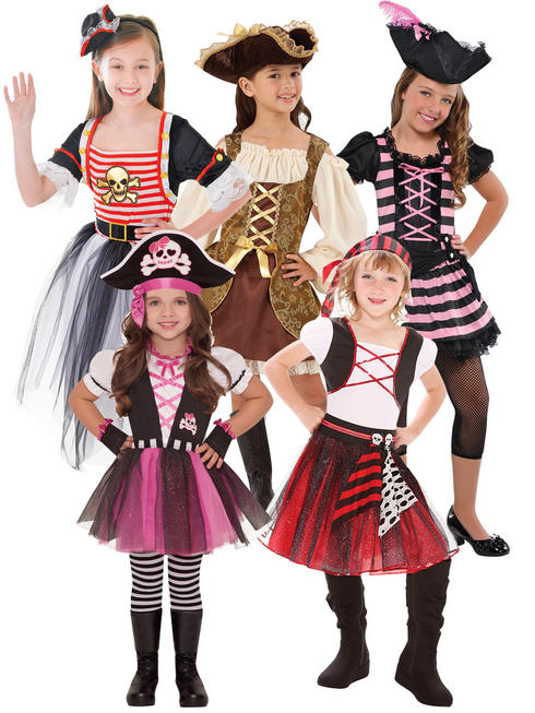 Girl's Pirate Princess Costume