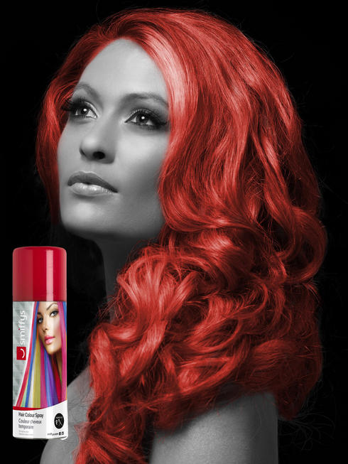 Red Colour Hair Spray