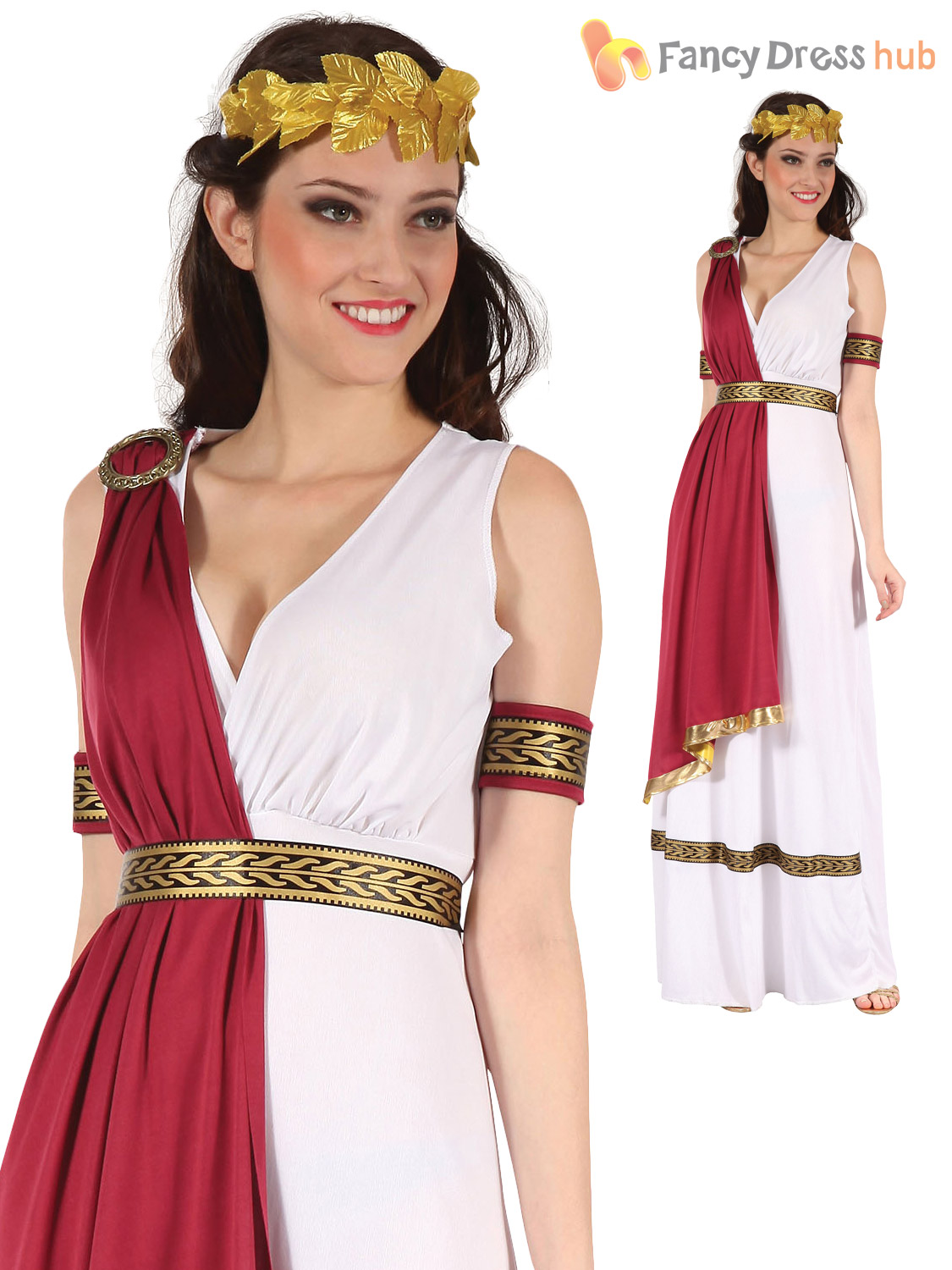 Mens-Ladies-Roman-God-Goddess-Toga-Caesar-Venus-  sc 1 st  eBay & Mens Ladies Roman God Goddess Toga Caesar Venus Fancy Dress Costume ...