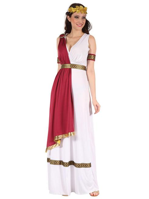 Ladies Greek Goddess Toga Costume