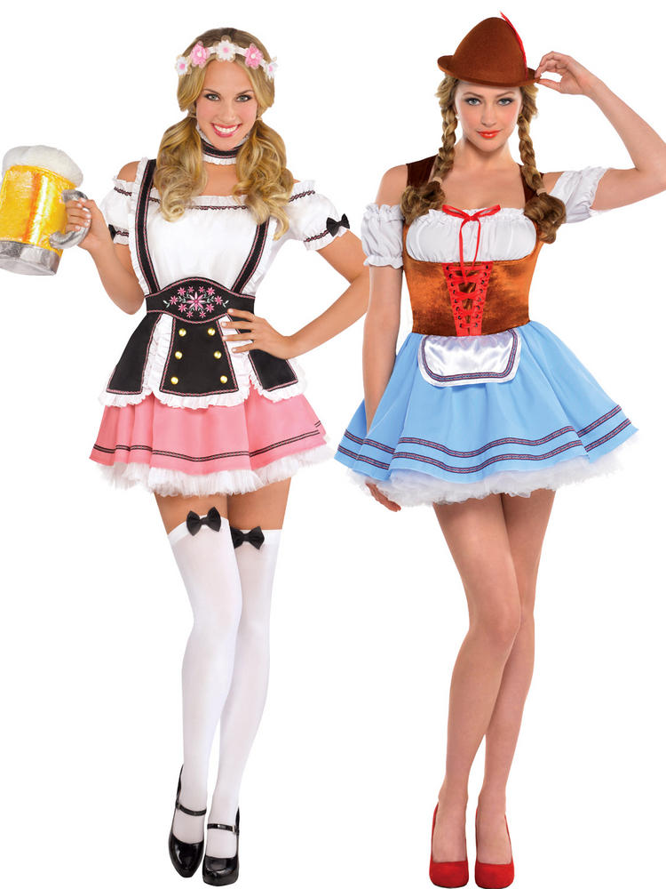 Ladies Oktoberfest Girl Costume