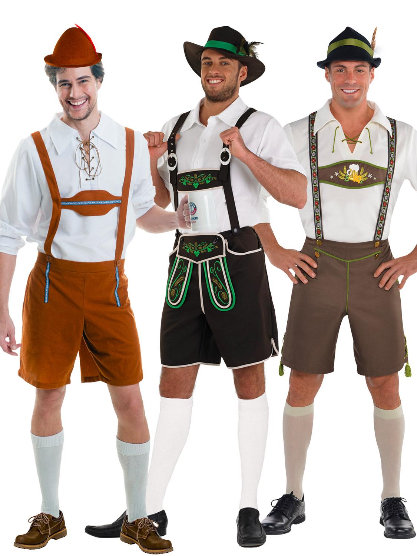 Mens lederhosen oktoberfest octoberfest bavarian german beer costume perfect costume for bavarian oktoberfest parties and octoberfest beer themed events solutioingenieria Images