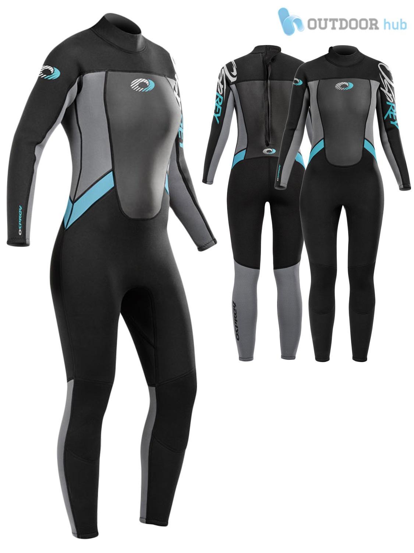 Osprey-Origin-Womens-3-2mm-Neoprene-Wetsuit-Full-Length-3mm-Ladies-Surf-Kayak thumbnail 4