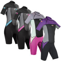 Ladies Osprey Origin 3/2mm Shorty Wetsuit