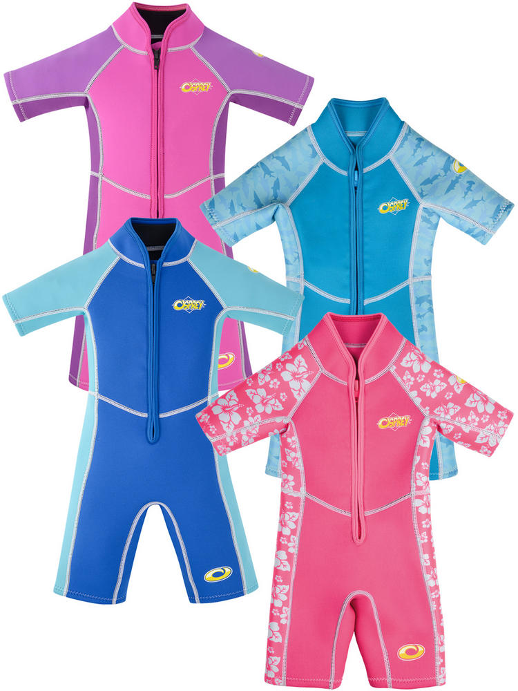 Kids Octopus, Oyster, Shark or Hibiscus Wetsuit