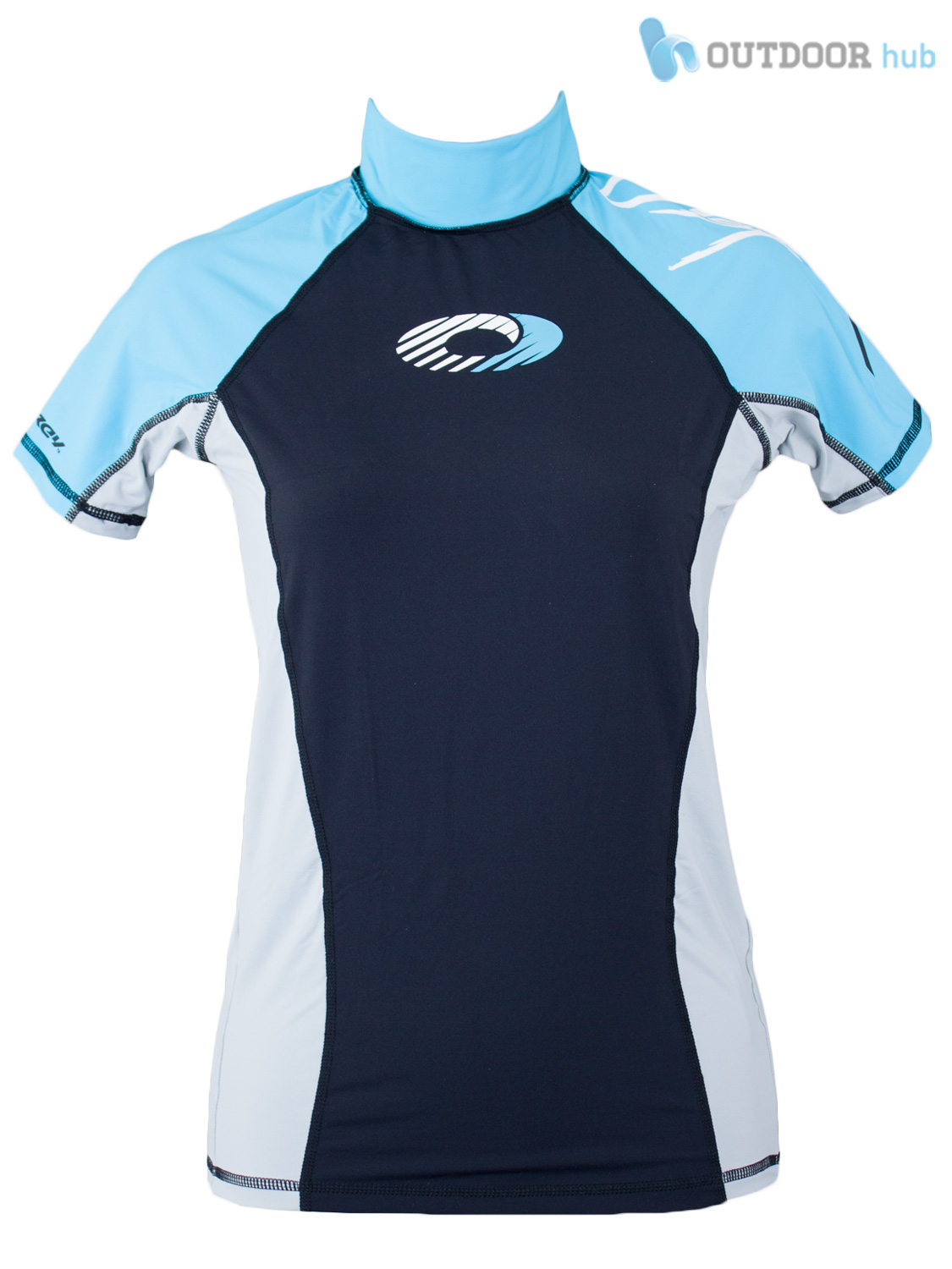 Osprey-Ladies-Short-Sleeve-Rash-Vest-Womens-Surf-T-Shirt-UV-50-Protection-Guard thumbnail 8