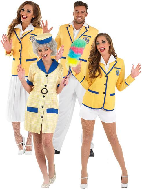 Ladies Holiday Camp Hi De Hi Hostess Costume