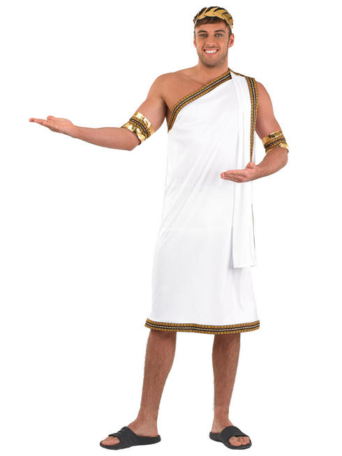 Men's Julius Caesar Toga Costume
