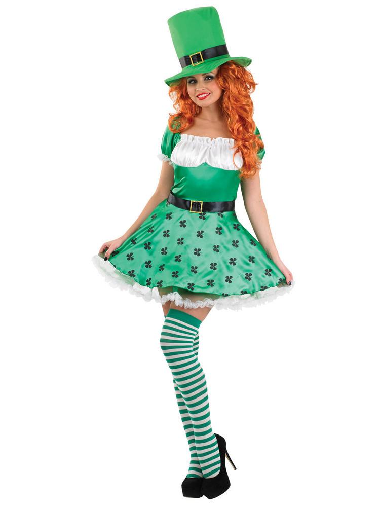 Ladies Sexy Leprechaun St Patricks Costume